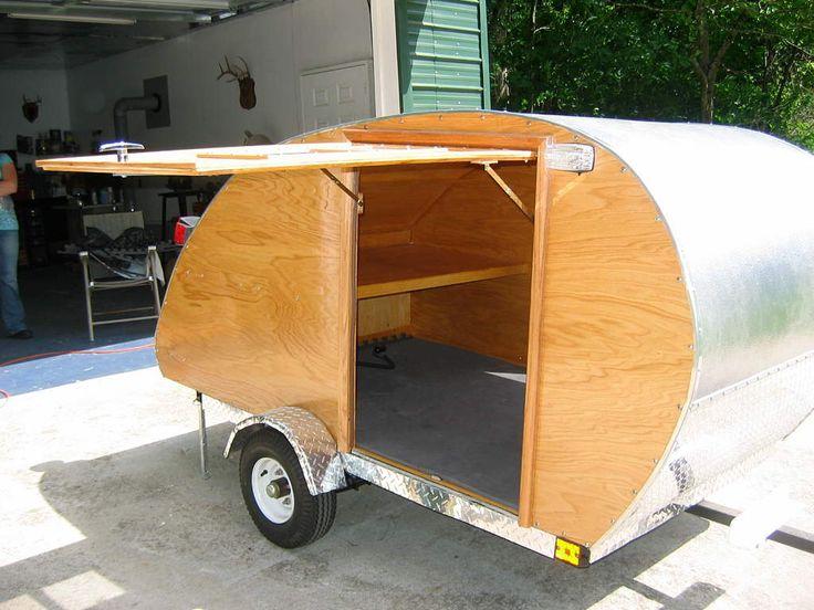 Truck Camper Plans Build Yourself: 2008 Homemade Teardrop Trailer