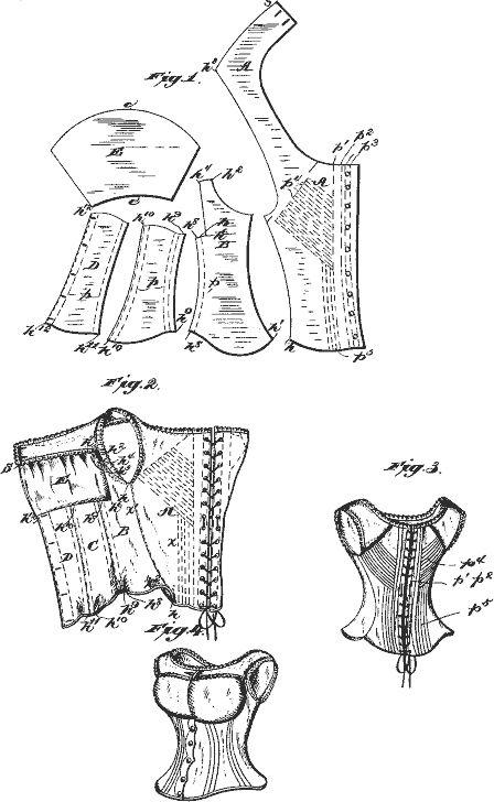 Corset patent Muchos corsets en este enlace.