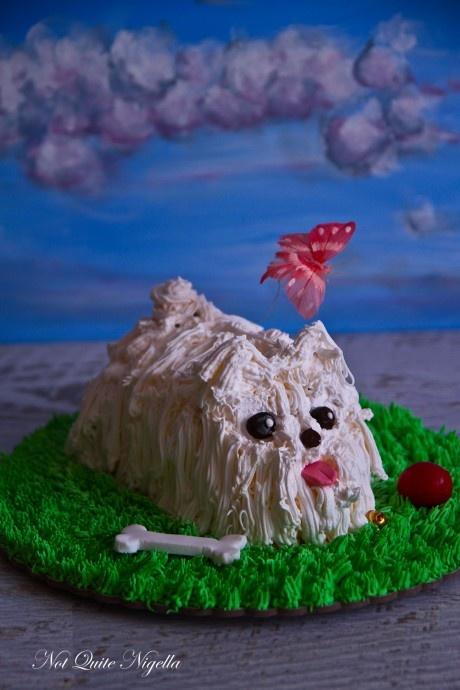 puppy dog cake - I love NQN!!!! :):