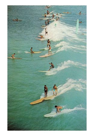 Surf surf surf: Old Schools, Happy Friday, Learning To Surfing, Summer Day, Oahu Hawaii, Vintage Surfing, Surfing Up, The Waves, Parties Waves