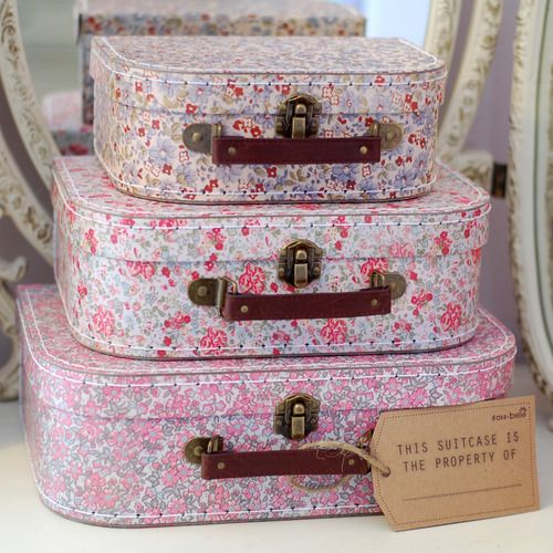196 best suitcase boxes images on Pinterest | Cartonnage ...