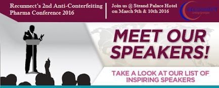 Meet Our #Speakers  and Listen to them at @recunnectltd 2nd #AntiCounterfeiting Pharma #Conference  2016 Date: 9th & 10th March 2016. Venue @ Strand Palace Hotel #London. Check out Full Speakers list here - http://www.recunnect.com/events/pharma-events/2nd-anti-counterfeiting-pharma-2016/