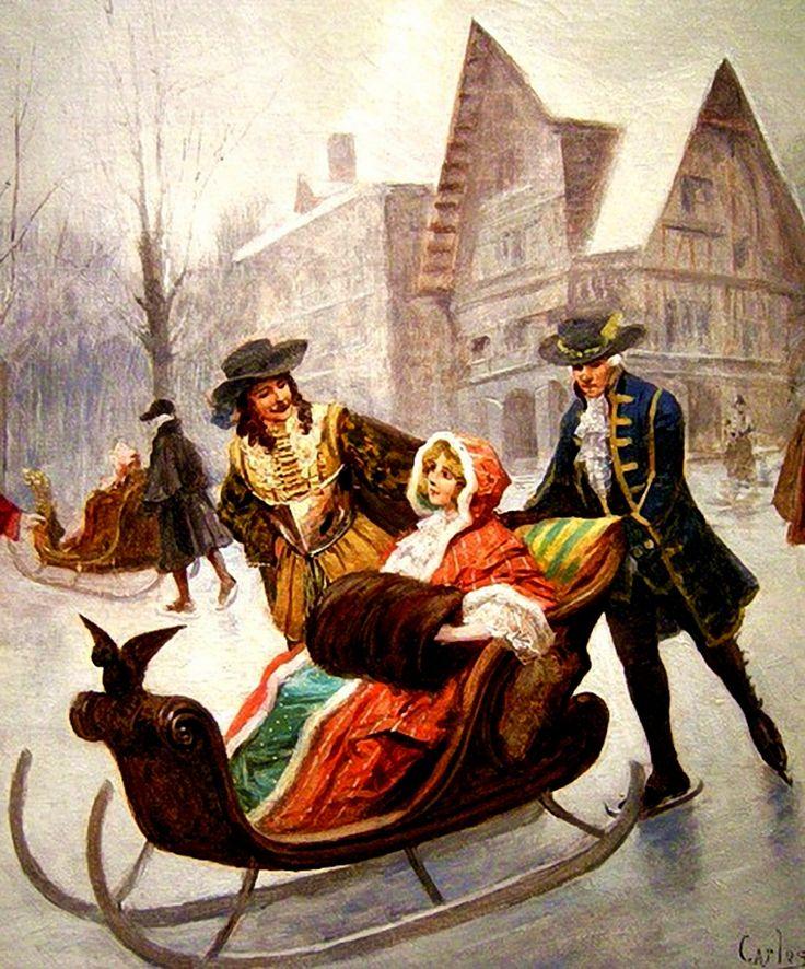 """Résultat de recherche d'images pour """"patinage 18è siècle peinture"""""""
