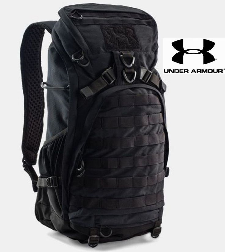 Under Armour Black Storm Heavy Assault Pack Framed MOLLE Tactical Backpack Bag