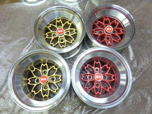 Hayashi Yayoi Wheels Aka Sakura Wheels Hayashi Wheels