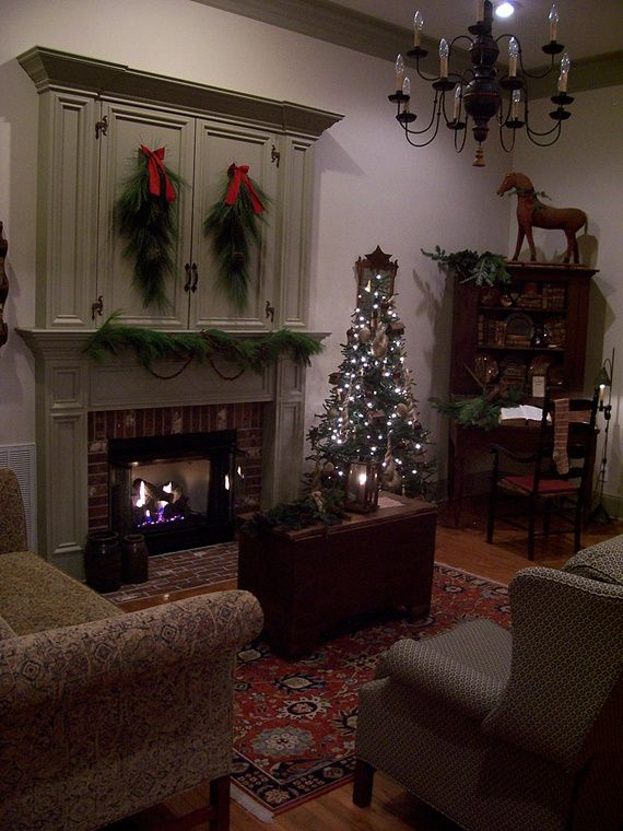 Christmas Best Living Room Decorations: 17 Best Images About FIREPLACES/HEARTHSIDE On Pinterest