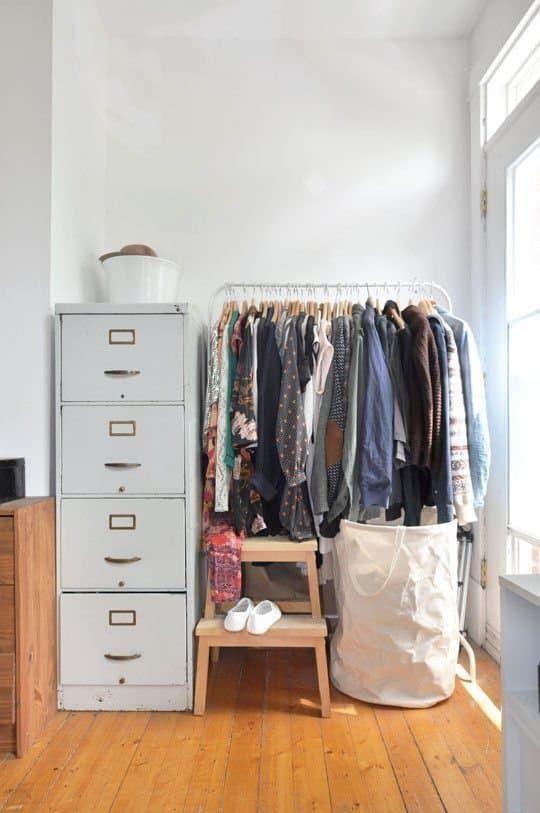 1000 Ideas About No Closet On Pinterest No Closet