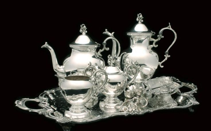 Antique Silver Tea Sets