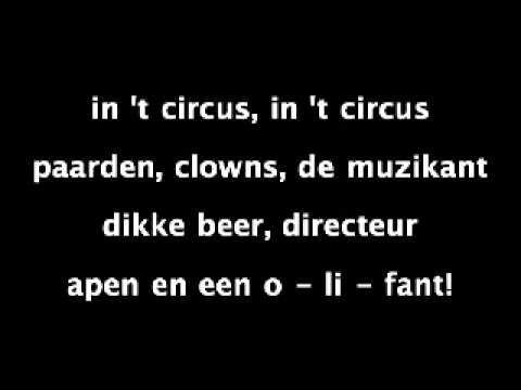 Liedjes over het circus - Digibord Onderbouw