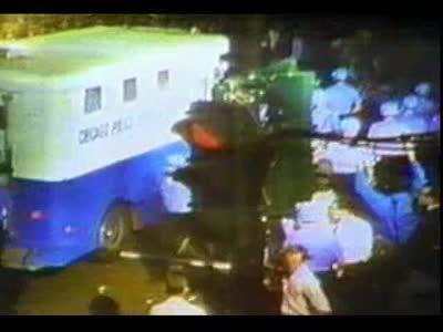 1968 Chicago riots film clip