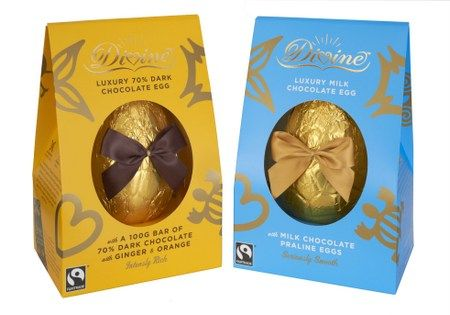 Divine Chocolate Luxury Easter Eggs Giveaway