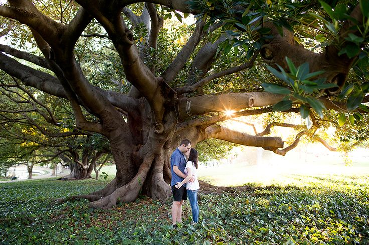 Ryan and Laura's beautiful engagement session at Hyde Park, Perth Western Australia. Photograph by Vow Photography - who specialises in natural wedding and engagement photography in Perth, Western Australia