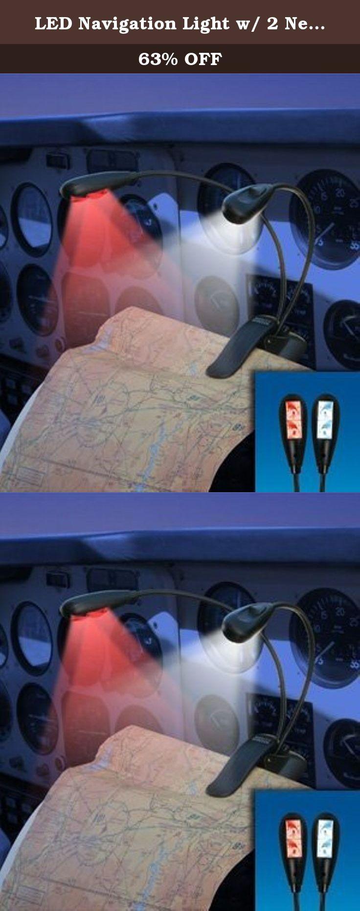LED Navigation Light w/ 2 Necks & 4 LED Lights. LED Navigation Light w/ 2 Necks & 4 LED Lights Features: .