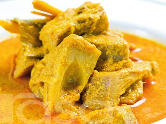 Gulai Nangka Padang - The Delicious Vegetables Padang Curry