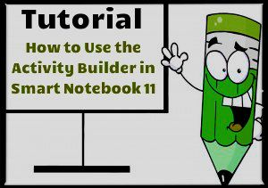 Activity Builder is a new feature in Smart Notebook 11. It allows you to create fun drag and drop activities that are great to use with primary kids. Students also receive instant feed back by having their selected response accepted or rejected based on the criteria set in the activity. Have fun smart boarding!