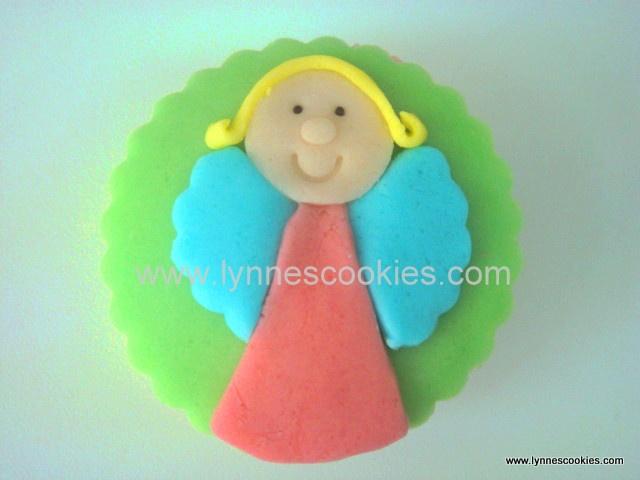 2D fairy cupcake