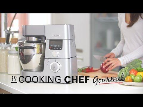 Recette au Cooking Chef Premium : risotto aux langoustines par l'Atelier des Chefs - YouTube