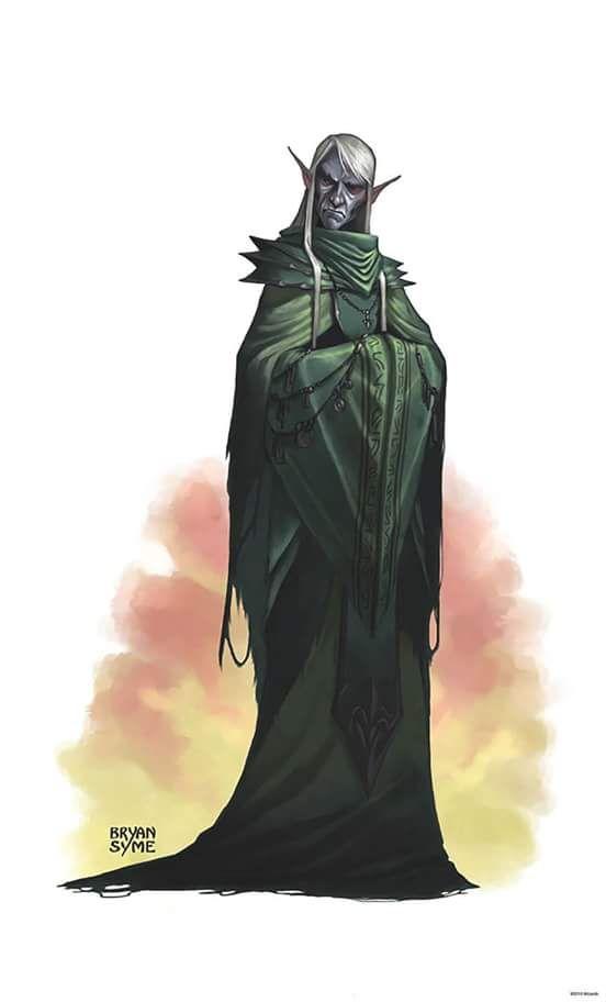 """Drow CM, Transmutador 14. """"A luz leva ao ódio, escuridão ao delírio. Logo as melhores coisas são feitas à noite."""""""