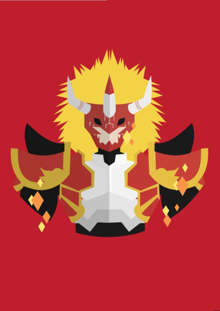 Digimon Frontier: Agnimon by ibeagra.deviantart.com on @DeviantArt
