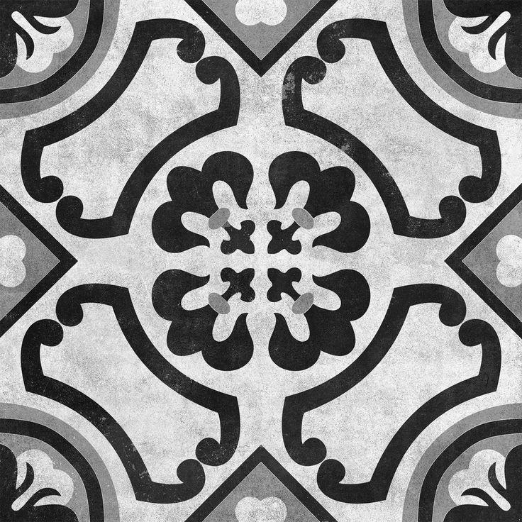 Cementine Contrast Circoli Glazed | Interceramic USA