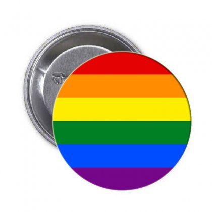 "Gay Symbol Pinback 1.25\"""