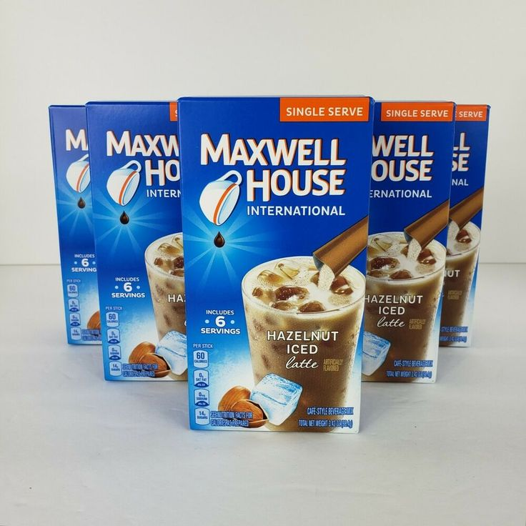 Details about 30 Singles Maxwell House International