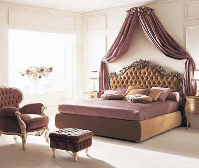 classic bedroom - purple
