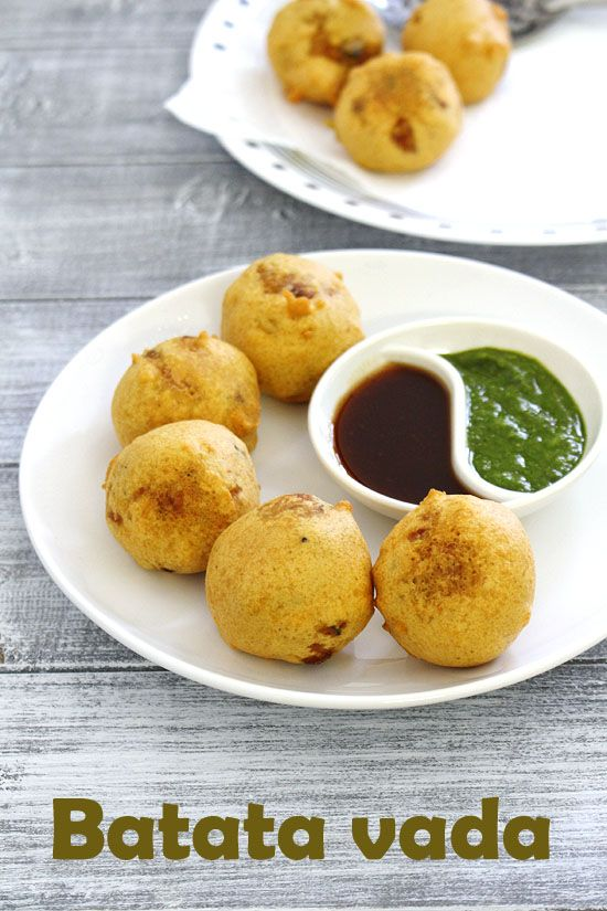 Batata vada recipe - one of my favorite and one of the popular Mumbai street food. This can be eaten as a snack with chutney or used in making vada pav.