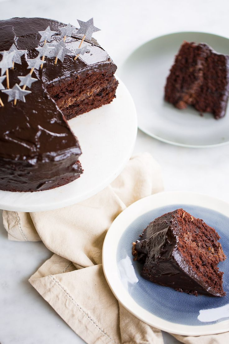 This recipe for this vegan birthday cake, well the best double chocolate vegan birthday cake is easy to follow, it's delicious and perfect.