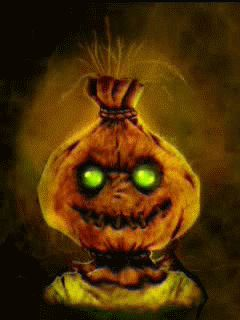 halloween scarecrow Mobile Screensavers available for free download.