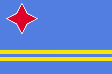 flags with red stars