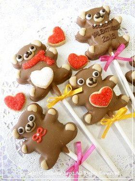 ロリポップチョコクッキー by atelier_H [クックパッド] 簡単おいしい ...