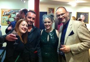 Louise Buckley, David Blank, Sara Mulryan and John Berlyne