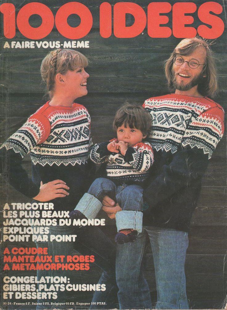 n° 24 de 100 Idées, d'octobre 1975.