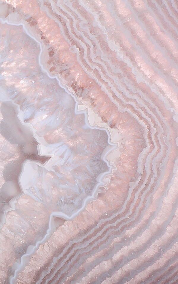 Rose Quartz & Pink Crystal Wallpaper Mural