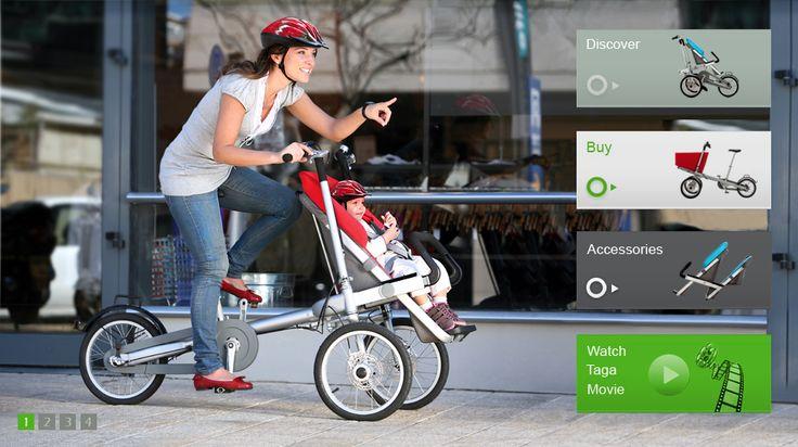 Bike that converts into a stroller - pretty amazing.: Taga Bike, Bicycles, Babystuff, Ideas, Baby Strollers, Bikes, Baby Stoller, Kids, Baby Stuff