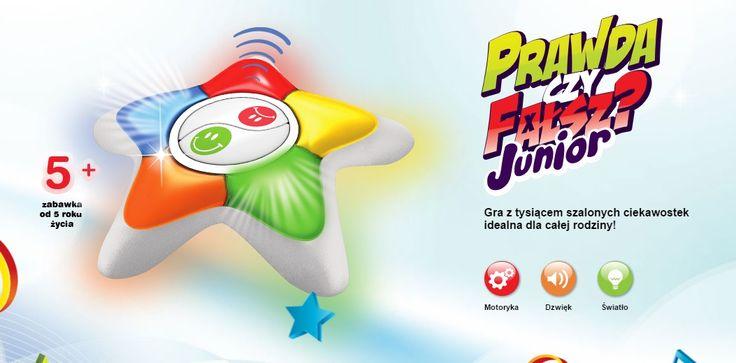 Gra z tysiącem szalonych ciekawostek idealna dla całej rodziny! Wersja Junior przeznaczona dla dzieci już od 5. roku życia!