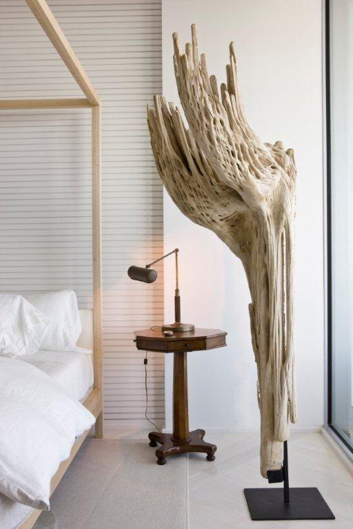 neutral stunner by darryl carter (driftwood sculpture)