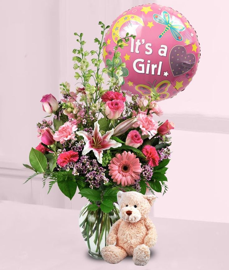 7 best new baby gifts flowers images on pinterest baby showers baby girl flowers new baby flowers baby flowers albuquerque negle Choice Image