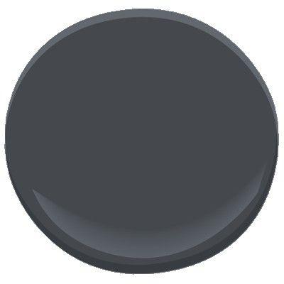 Couleur Ch. Roro pour Porte de garde-robe ou plafond / Horizon noir 2132-30