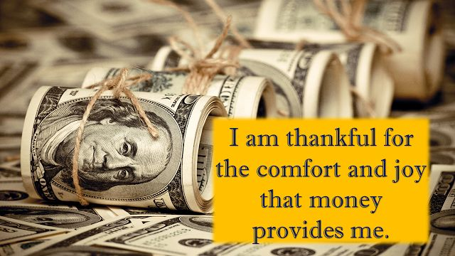 I have always said this abundance of money affirmation and always will..