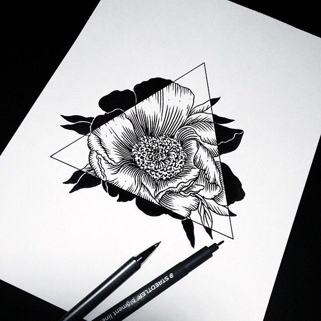 Tatto fleur - magnifique - #tropbeau #tatto - Cherry
