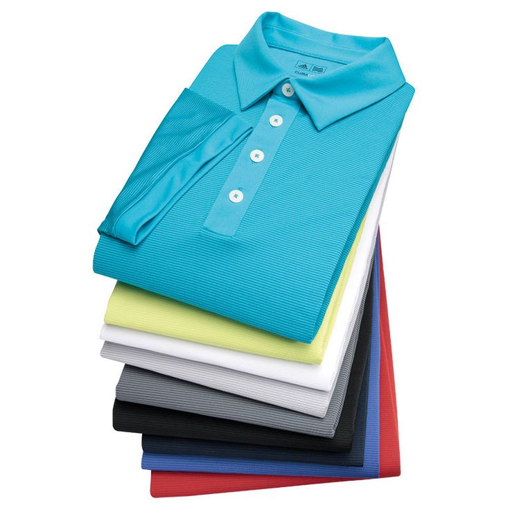 Golf Adidas Polo Climalite Mens Shirt Climacool Stripe 2015 Tonal 2 Colour AD150