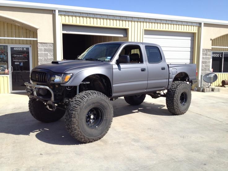 2004 3M dark grey matte , full wrap Toyota