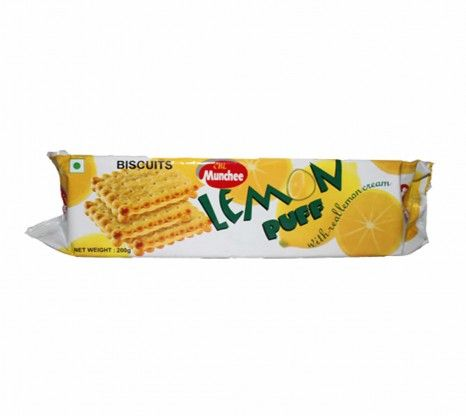 Munchee Lemon Puff 200g at Rs.49 online with shipping in India.