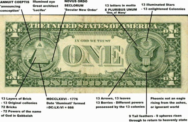 illuminati...I do not claim to be an expert on the endtimes and Bible prophecy. I do look at some things and think (Yes, I think) is this part of the new world order which will include one govt, one currency, one religion and so on?
