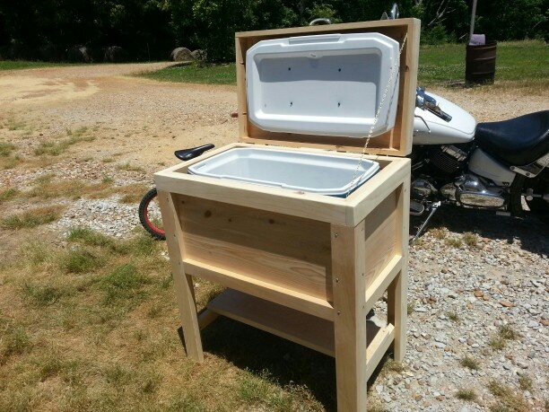 Wooden ice chest $135 & 25+ unique Wooden ice chest ideas on Pinterest | Diy cooler Ice ... Aboutintivar.Com