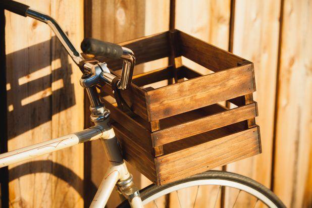 DIY Bike Crate