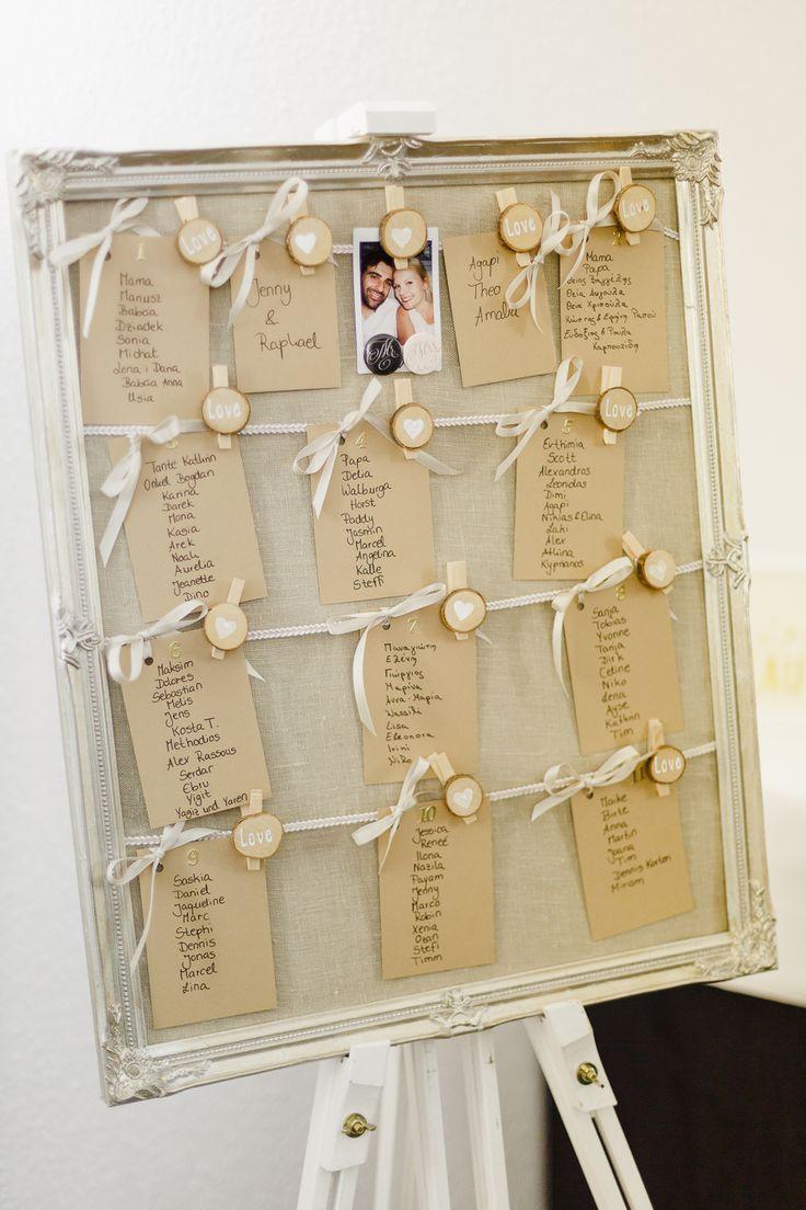 #sitzplan Multikulturelle Vintage Hochzeit mit Mini Cooper von Irina und Chris Photography | Hochzeitsblog - The Little Wedding Corner