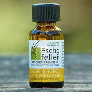 Olio di pino cembro - Val Sarentino - Eschgfeller